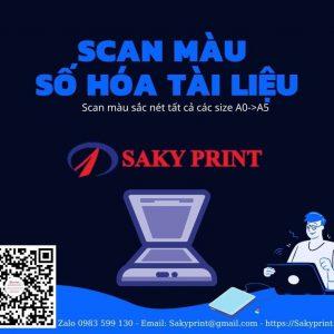 Scan số hóa tài liệu- Scan chất lượng cao tại TPHCM