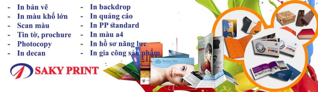 Sakyprint cung cấp dịch vụ photocopy, in màu khổ lớn, in nhanh bản vẽ kỹ thuật, in nhanh kỹ thuật số, in đóng cuốn tài liệu, hồ sơ dự thầu, in đóng cuốn hồ sơ năng lực, catalogue... in bản vẽ chất lượng sắc nét tại thành phố Hồ Chí Minh, giao hàng tận nơi
