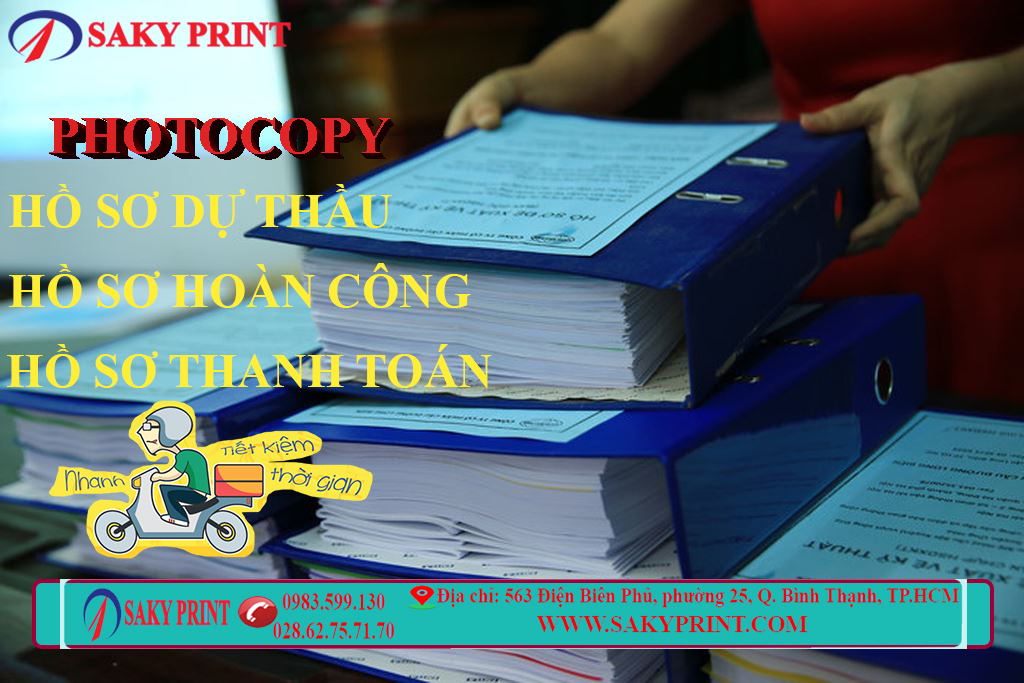 Photocopy nhanh hồ sơ