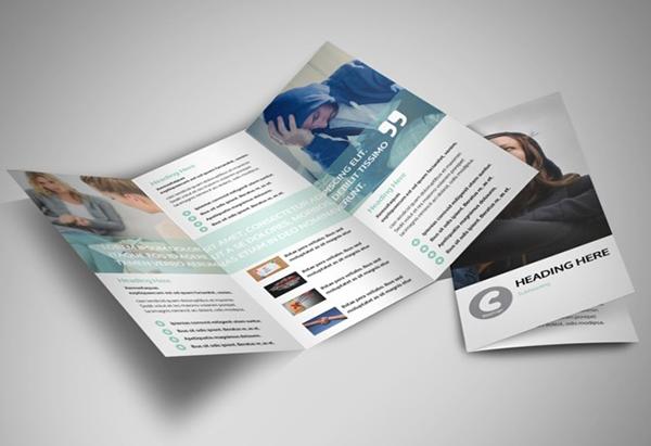 In tờ gấp brochure