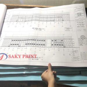 Photocopy bản vẽ nhanh và đẹp