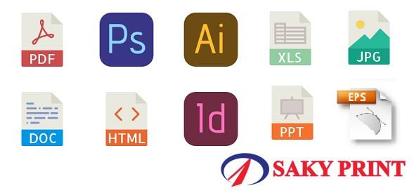 Nhận in tài liệu online tất cả các phần mềm thiết kế