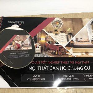 in đồ án tốt nghiệp thiết kế nội thất kèm DVD
